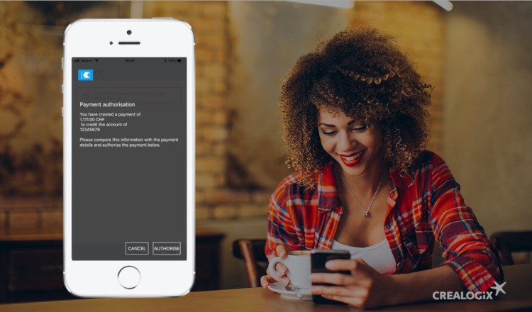 Fintechs CREALOGIX, Entersekt und Inventx bieten SaaS Authentifizierungslösung für das Digital Banking an