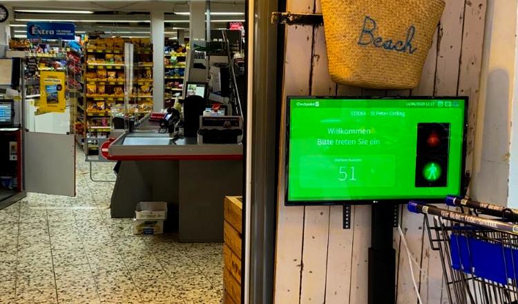 Zum Schutz von Kunden und Angestellten: EDEKA K. Johst nutzt SmartOccupancy von Checkpoint Systems