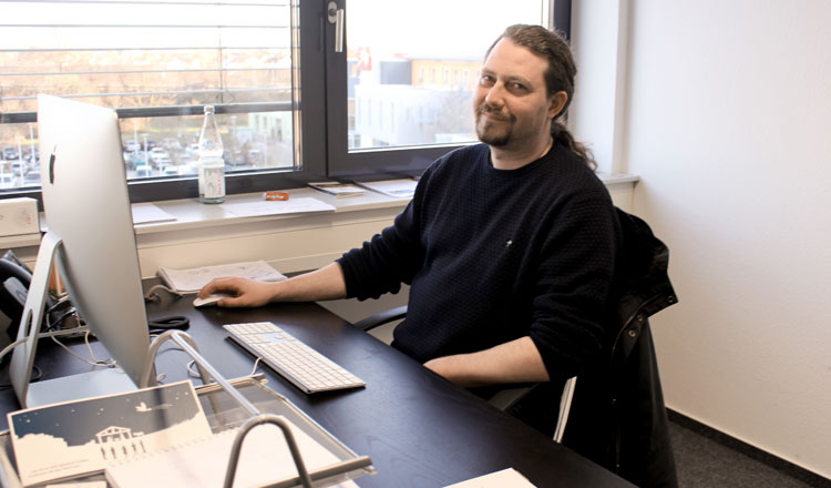 Neu im Team: Felix Zuber
