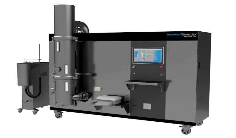 VENTILUS® Pilot von Romaco Innojet - Prozesstechnik All-in-one
