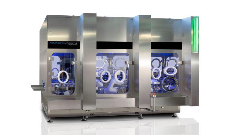 Microdosiermaschine MicroRobot 50 von Romaco Macofar - Die Avantgarde der Abfülltechnik
