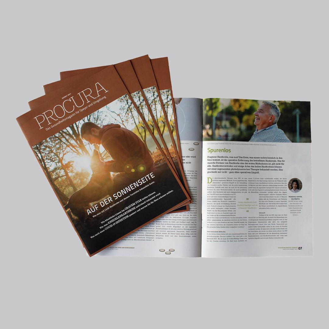 Herbstausgabe der PROCURA Speyer erschienen