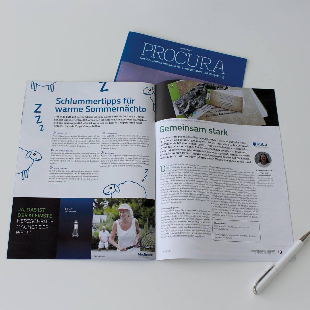 Sommerausgabe der PROCURA Ludwigshafen erschienen