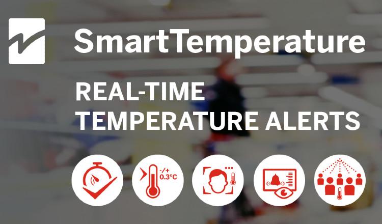 SmartTemperature von Checkpoint Systems ermöglicht präzise Messungen erhöhter Körpertemperatur
